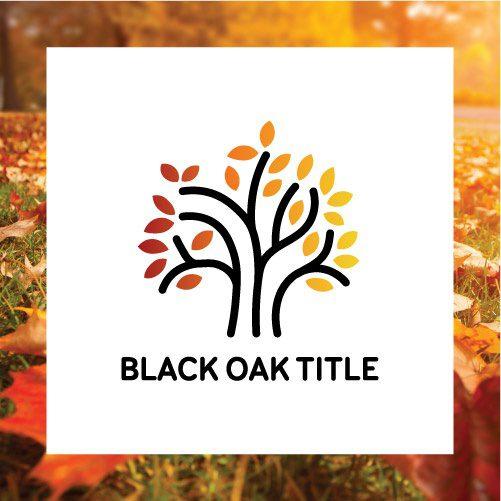 Black Oak Title Logo Tile
