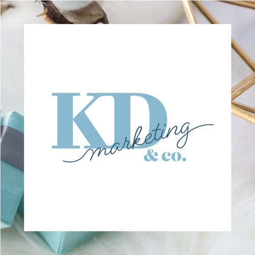 KD Marketing & Co Logo Tile