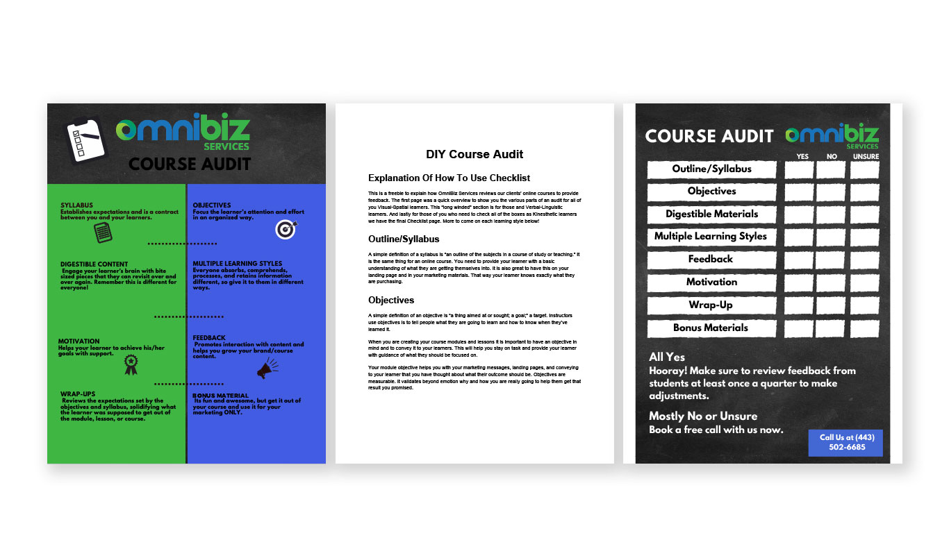 Original OmniBiz Solutions Handout